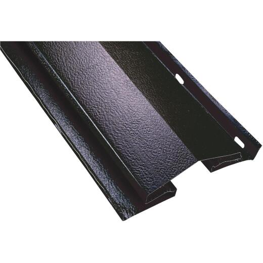 Air Vent 8 Ft. Black Aluminum Continuous Unfiltered Ridge Vent