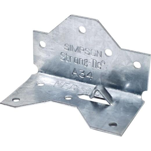 Simpson Strong-Tie ZMax Galvanized Steel 1-7/16 In. x 2-1/2 In. 18 ga Framing Angle