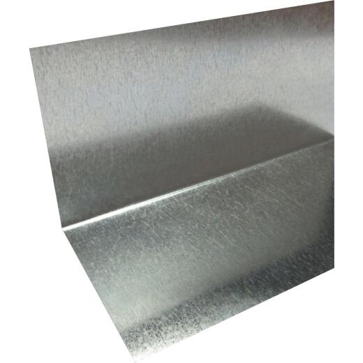 Klauer 4 In. x 4 In. x 10 Ft. Mill Galvanized Angle Window Flashing