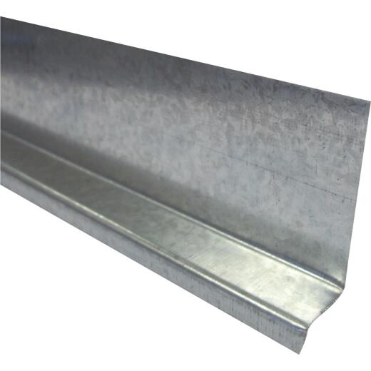 Klauer 3/4 In. X 10 Ft. Base Z Double Angle Galvanized Flashing