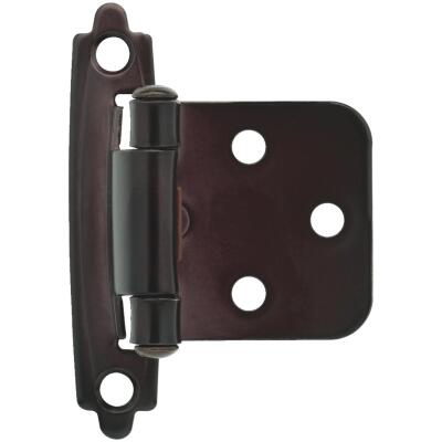 Liberty Oil Rubbed Bronze Self-Closing Overlay Hinge (2-Pack)
