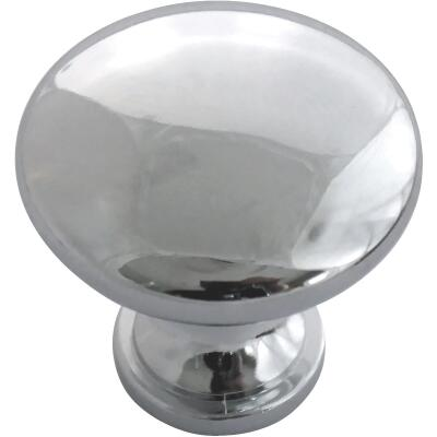 Laurey 1-3/8 In. Polished Chrome Hollow Steel Knob