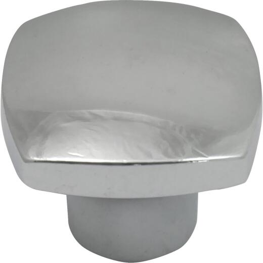 Laurey Aventura 1-1/2 In. Polished Chrome Square Knob