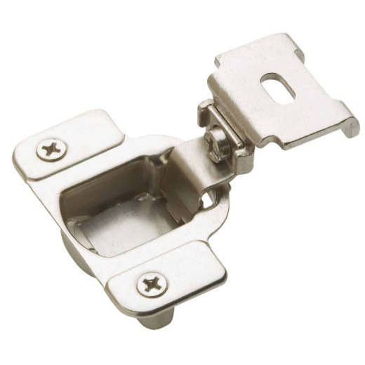 Amerock Matrix Nickel 1-1/4 In. European Self-Closing Concealed Hinge, (2-Pack)