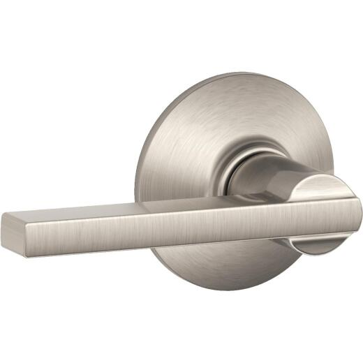 Schlage Latitude Satin Nickel Passage Door Lever
