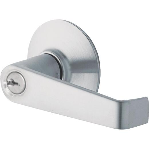 Schlage Satin Chromium-Plated Storeroom Door Lever