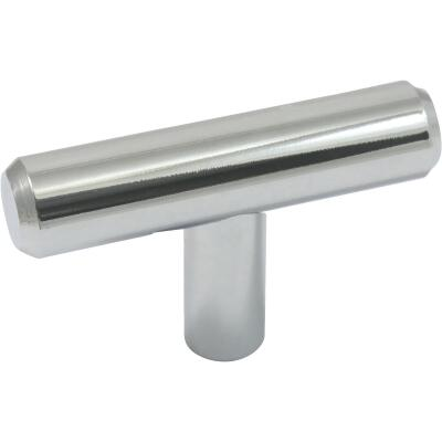 Laurey 2 In. Polished Chrome Steel T-Bar Knob