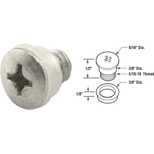 Slide-Co Die-Cast Awning Link Repair Bolt And Bushing (4 Sets)