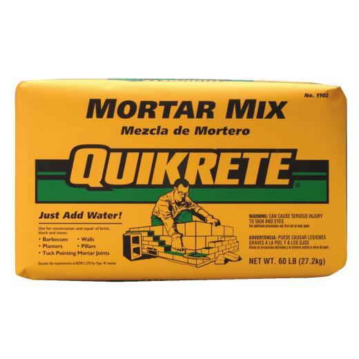 Quikrete 60 Lb Natural Mortar Mix