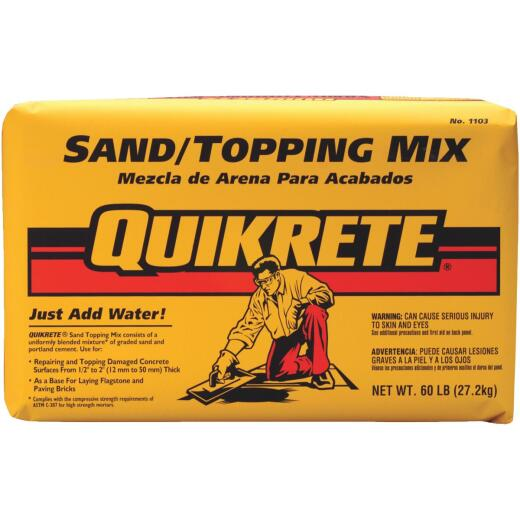 Quikrete 60 Lb Sand/Topping Mix