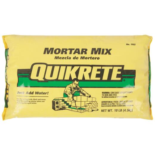 Quikrete 10 Lb Natural Mortar Mix