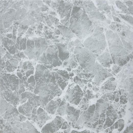 Home Impressions Gray Marble 12 In. x 12 In. Vinyl Floor Tile (45 Sq. Ft./Box)