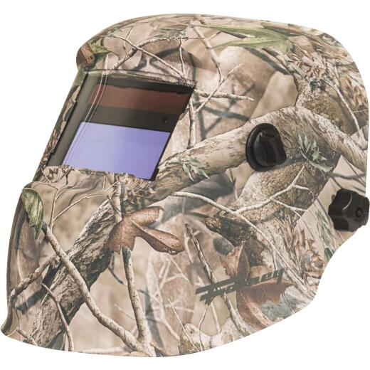 Forney Camouflage 1.69 In. x Viewing Area 3.86 In. x Viewing Area Welding Helmet