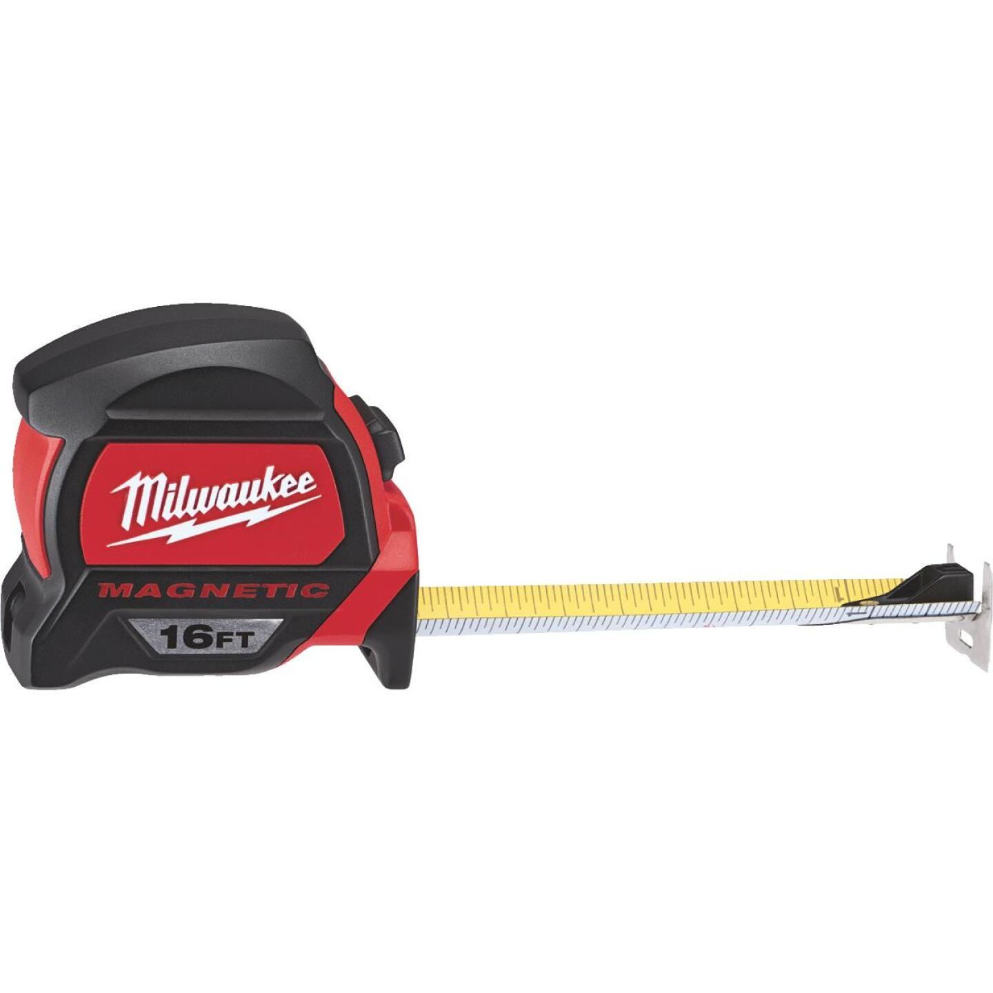 Milwaukee 16 Ft. Magnetic Tape Measure with Blueprint Scale Image 1