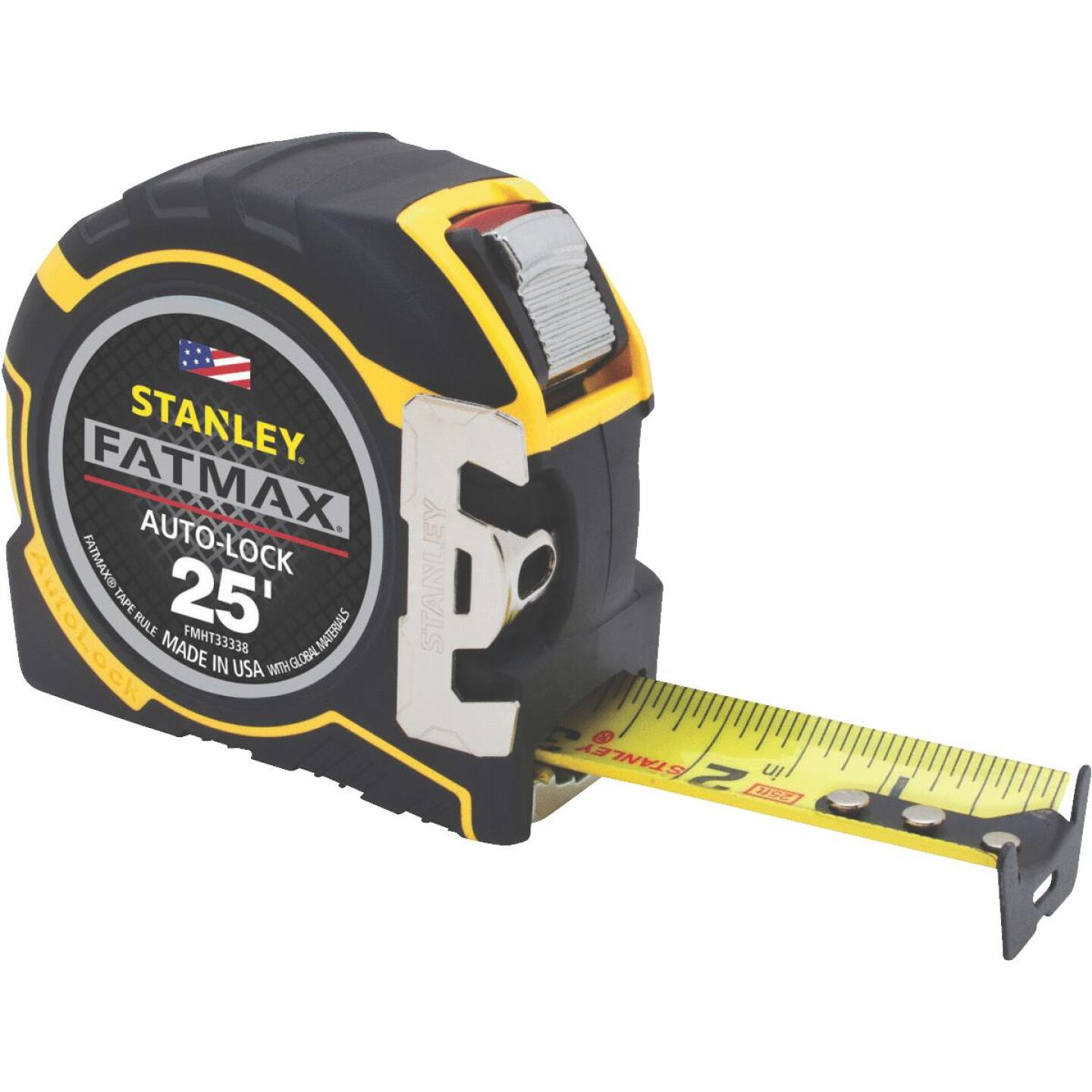 Stanley FatMax 25 Ft. Auto-Lock Tape Measure Image 1