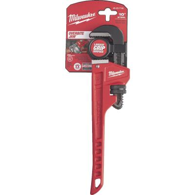 Milwaukee 10 In. Steel Pipe Wrench