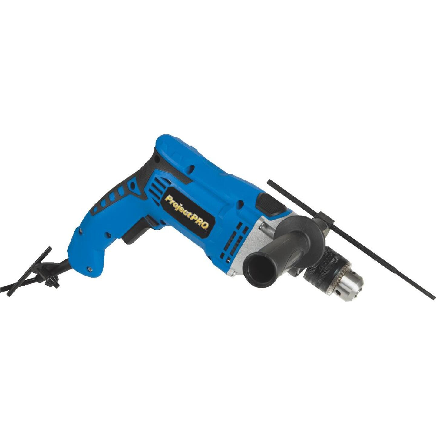 Project Pro 1/2 In. Keyed 6.6-Amp Electric Hammer Drill Image 1