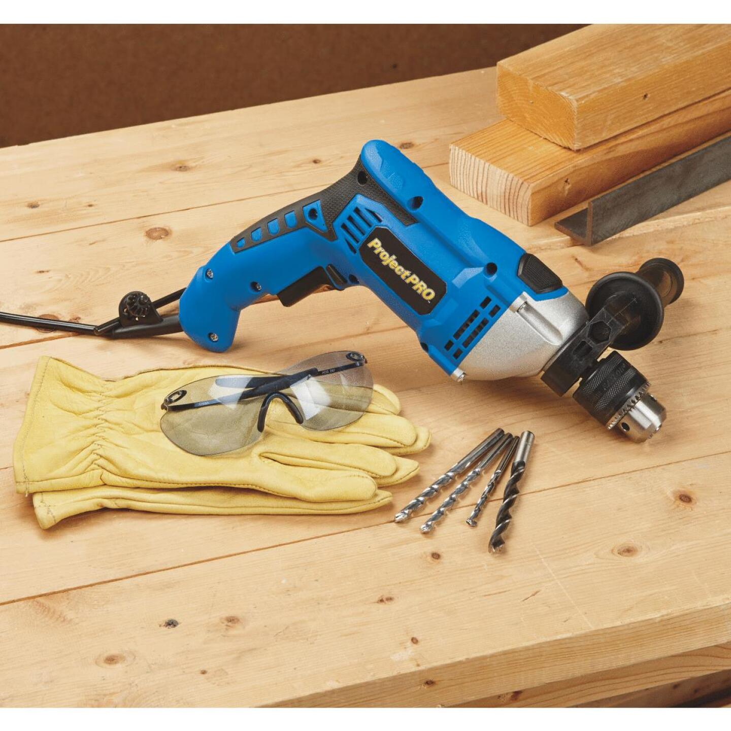 Project Pro 1/2 In. Keyed 6.6-Amp Electric Hammer Drill Image 3
