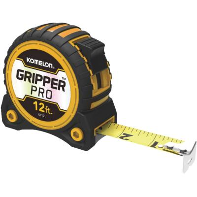 Komelon Gripper Pro 12 Ft. Tape Measure