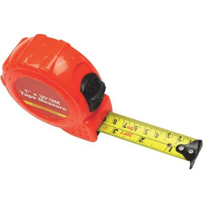 Do it 9m/30 Ft. Metric/SAE Power Tape Measure
