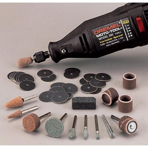 Dremel Sanding and Grinding Rotary Tool Accessory Kit (31-Piece)