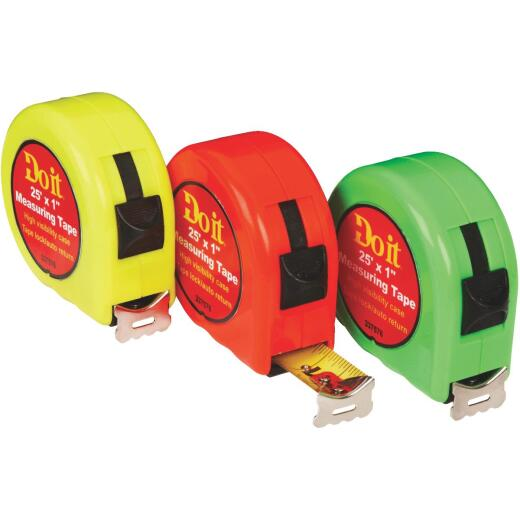 Do it 25 Ft. Neon Tape Measure Display