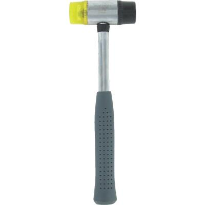 Great Neck 8 Oz. Plastic/Rubber Mallet with Tubular Steel Handle