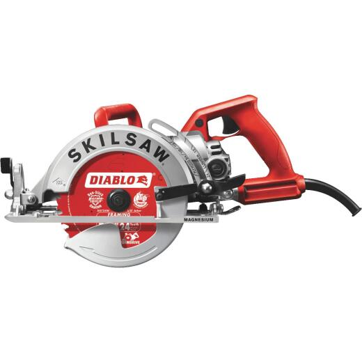 SKILSAW 7-1/4 In. 15-Amp Magnesium Worm Drive Circular Saw