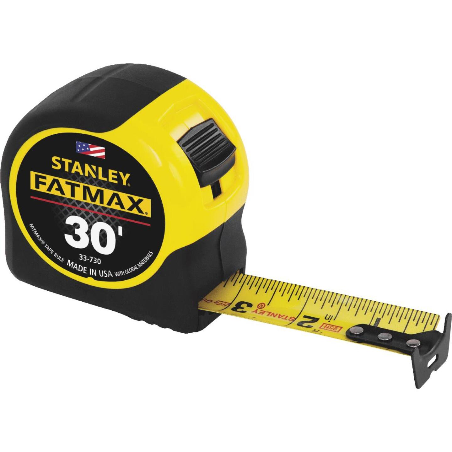 Stanley FatMax 30 Ft. Classic Tape Measure with 11 Ft. Standout Image 1