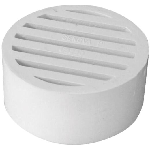 IPEX Hub-Fit 3 In. PVC Floor Strainer