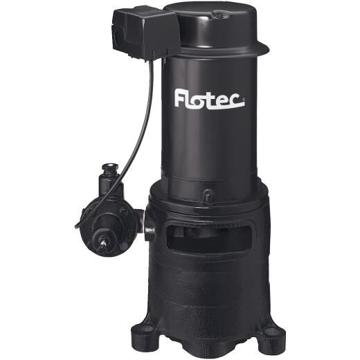 Flotec 1 HP Cast Iron Vertical Deep Water Well Jet Pump