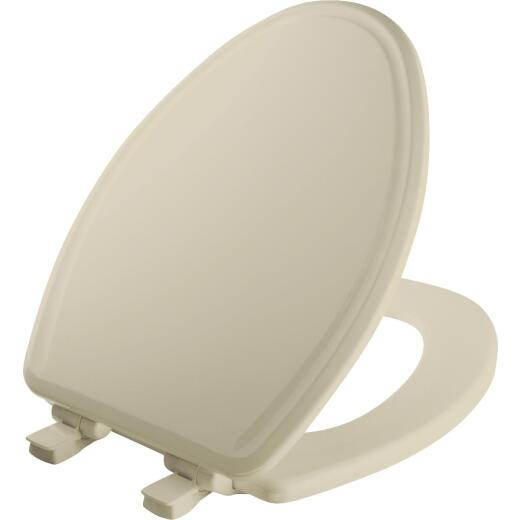 Mayfair Elongated Slow Close Bone Toilet Seat