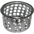 Lasco 1 In. Chrome Removable Kitchen Strainer Cup Image 1