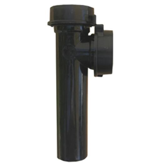 Lasco 1-1/2 In. OD x 7 In. Black Plastic End Outlet Tee
