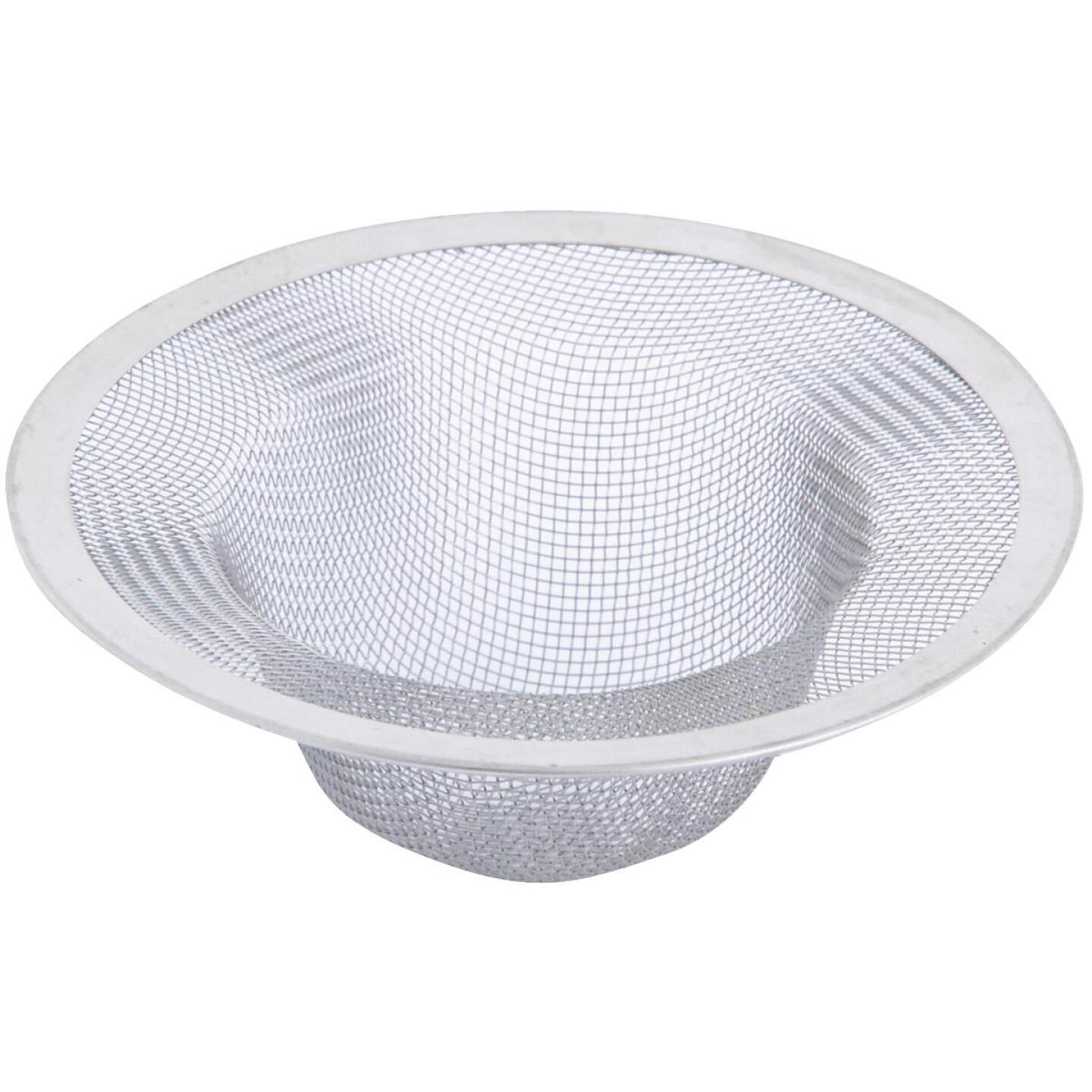 Danco 4-1/2 In. Stainless Steel Mesh Kitchen Sink Strainer Cup  Image 1