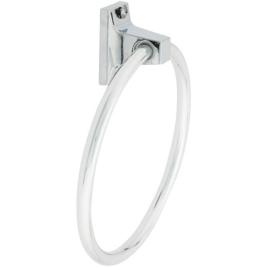 Home Impressions Chrome Towel Ring