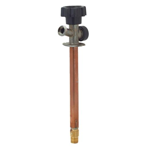 Prier 1/2 In. SWT X 1/2 In. X 8 In. IPS Anti-Siphon Frost Free Wall Hydrant