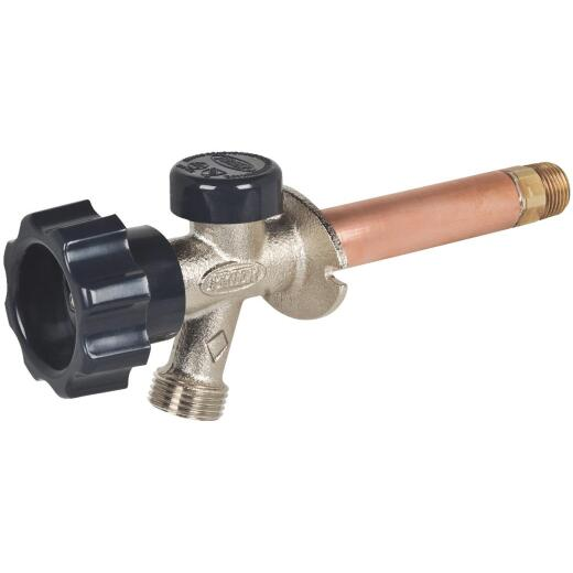 Prier 1/2 In. SWT X 1/2 In. X 10 In. IPS Anti-Siphon Frost Free Wall Hydrant