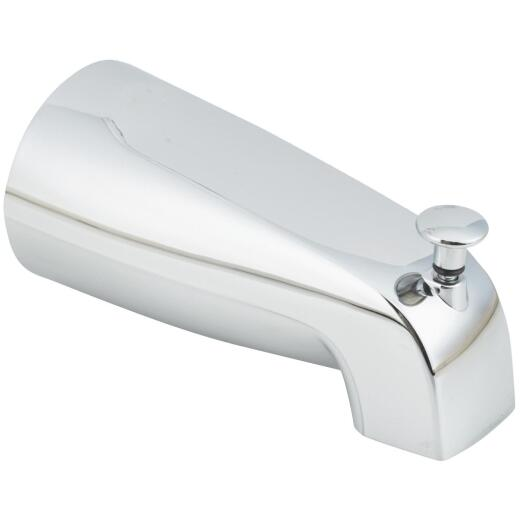 Do it 5-1/2 In. Chrome Bathtub Spout with Diverter