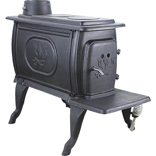 U.S. Stove Cast Iron 900 Sq. Ft. Boxwood Stove