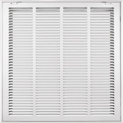 Accord 20 In. x 20 In. White Filter Grille