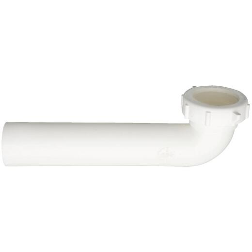 Do it 1-1/2 In. x 7 In. White Plastic Waste Arm
