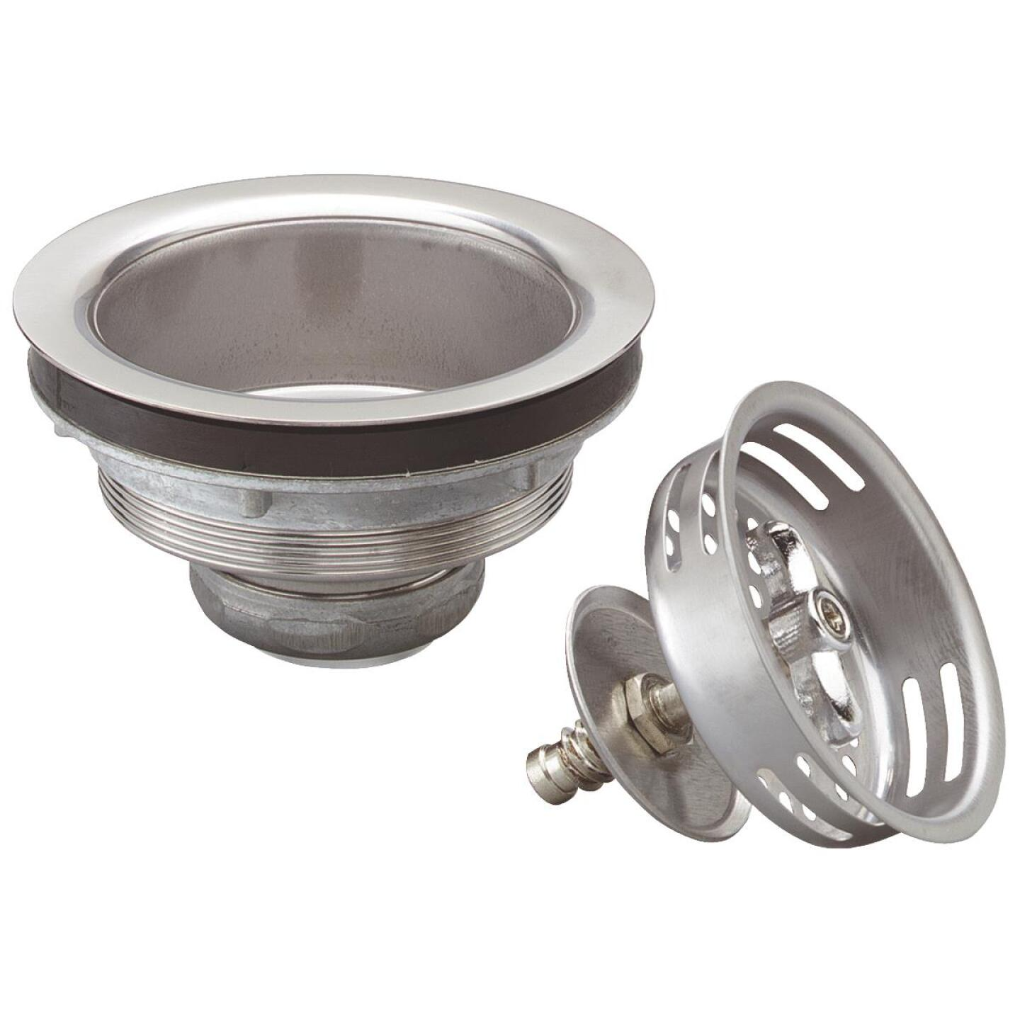 Do it Stainless Steel Turn to Seal Basket Strainer Assembly Image 1