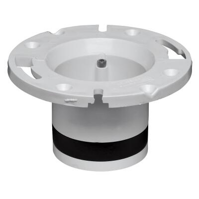 Oatey 4 In. Schedule 40 DWV Replacement PVC Closet Flange
