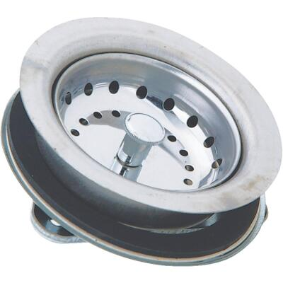 Do it 3-1/2 In. Stainless Steel Basket Strainer Assembly