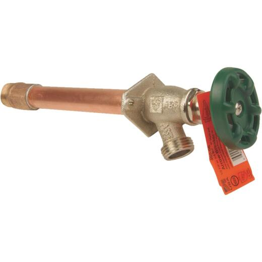 Arrowhead Brass 1/2 In. Copper SWT Or 1/2 In. MIP X 6 In. Standard Frost Free Wall Hydrant