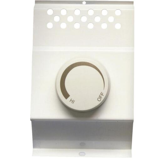 Cadet White Double Cadet BFT2 Electric Baseboard Heater Thermostat