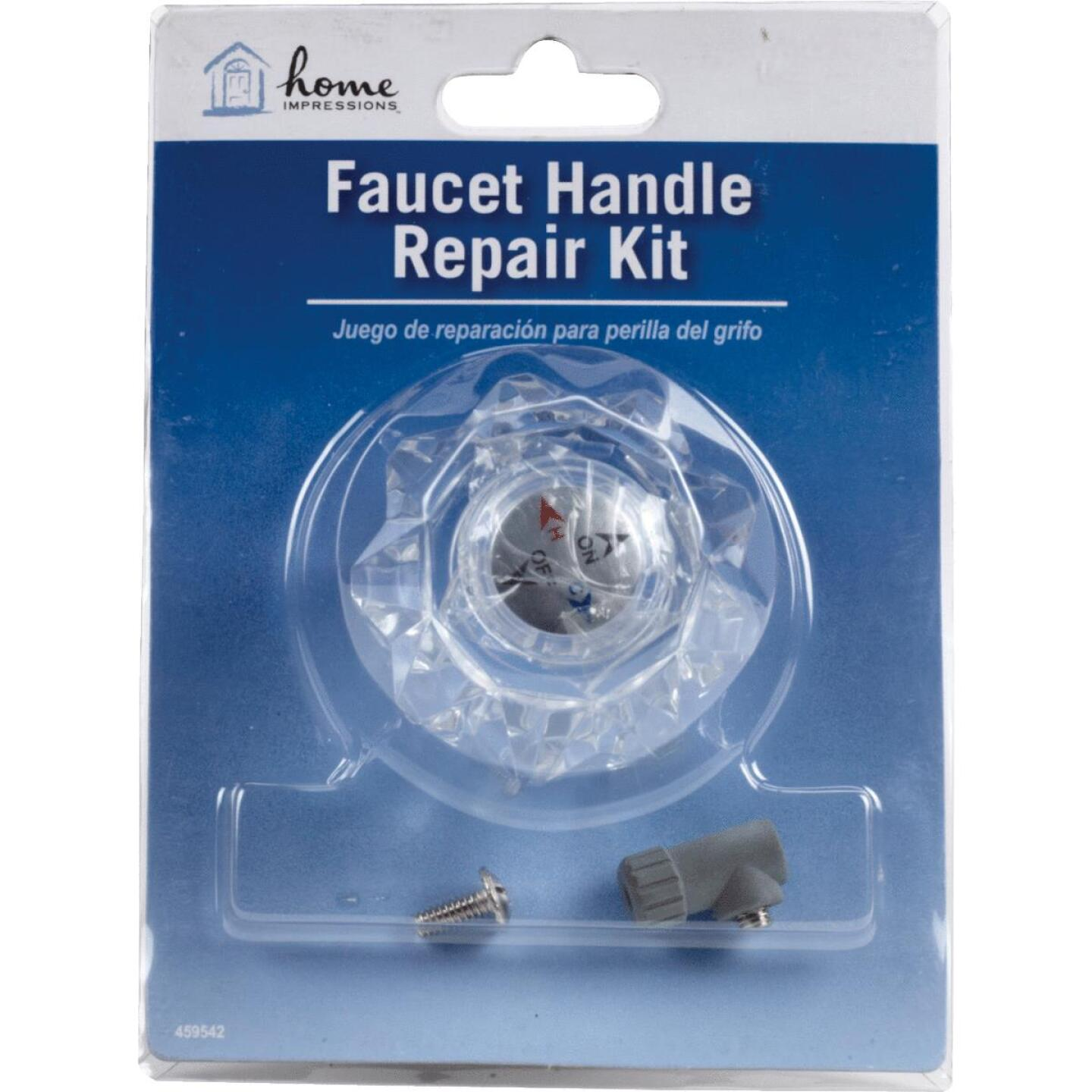 Home Impressions Acrylic Faucet Handle Repair Kit Image 2