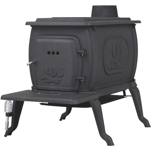 U.S. Stove Cast Iron 1600 Sq. Ft. Boxwood Stove