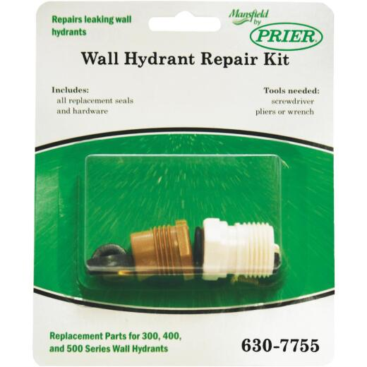 Prier Mansfield Style Service Parts Kit for Model No. 378/578 Series Wall Hydrants